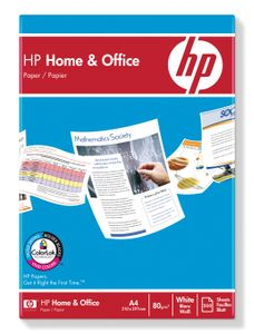 HP Home & Office paper 80g A4 (500) ,½pall ohålat (738102-1*240)