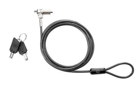 HP ESSENTIAL KEYED CABLE LOCK F/ DEDICATED NOTEBOOK ACCS (T0Y14AA)