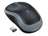 LOGITECH M185 Wireless mouse Swift Grey (910-002235)