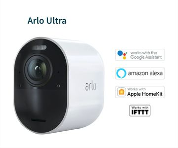 ARLO Ultra 4K UHD Wire-Free Security Camera Add-on ? 1 Camera (VMC5040-100EUS)