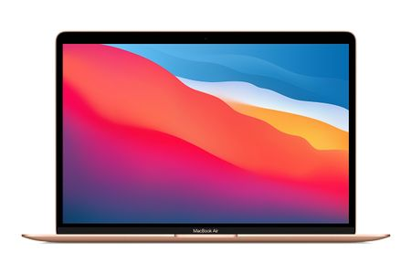 "APPLE MacBook Air M1 chip (2020), 13.3"" with 8-core CPU and 7-core GPU, 256GB - Gold (MGND3DK/A)"