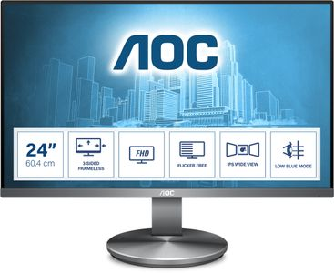 AOC I2490VXQ/ BT 24IN IPS LCD 1920X1080 4MS GTG 16:9           IN MNTR (I2490VXQ/BT)