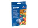 BROTHER glossy photo paper white 100x150mm 50 sheets