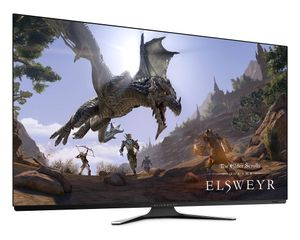 DELL 55 OLED Gaming Monitor , (AW5520QF)