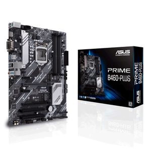 ASUS PRIME B460-PLUS Intel Socket LGA 1200 ATX DDR4 (90MB13J0-M0EAY0)