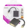 DELTACO Mini-Displayport - DVI-I (DP-DVI6-K)