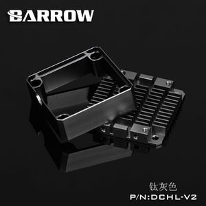Barrow Aluminium Heatsink for DDC pumper Svart (DCHL-V2B)