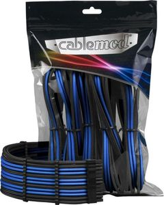 CableMod PRO ModMesh Cable Extension Kit - BLACK / BLUE (CM-PCAB-BKIT-NKKB-BB)