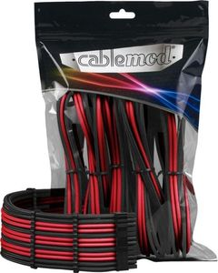 CableMod PRO ModMesh Cable Extension Kit - BLACK / RED (CM-PCAB-BKIT-NKKR-BR)