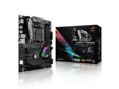 ASUS ROG Strix B350-F Gaming, Socket-AM4 (ROG STRIX B350-F GAM)