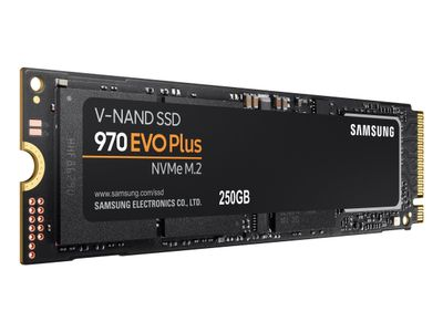 SAMSUNG 970 EVO Plus SSD 250GB NVMe M.2 internal (MZ-V7S250BW)