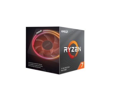 AMD Ryzen 7 3800X 3.9/ 4.5GHz 8/16 Prosessor (100-100000025BOX)