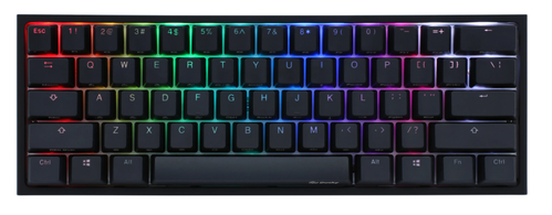 DUCKY One 2 Mini 2020 Cherry Brown RGB Nordic (DKON2061ST-BFIPDAZT1)