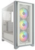 CORSAIR Icue 4000X White Rgb Midi Tower (CC-9011205-WW)