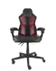 DELTACO Gaming chair, PU leather, RGB, Black, 39 settings