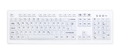 ACTKEY D Hygiene Fully Sealed Keyboard White