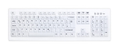 ACTKEY D Hygiene PC-Keyboard White