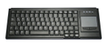 ACTKEY D Ultraflat Industry KB w. PAD Black