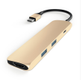 Satechi USB-C MultiPorts-adapter - Gold