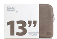 "TRUNK 13"" MacBook Pro Suede Sleeve - beige ruskind"