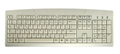 ACTKEY D Washable PC-Keyboard White