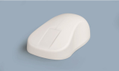 ACTKEY D Wireless Hygeine Mouse 2.4GHz White