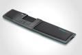 MOUSETRAPPER wrist rest for advance 2.0 black/ turquoise