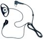 Motorola D-Shell Earpiece w/PTT & Mic