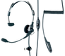 Motorola Light Weight Headset w/PTT & Vox GP-serie