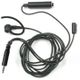 Motorola Black Earpiece Xtra Loud Mic &  PTT 3-wire 3,5mm GP344-388