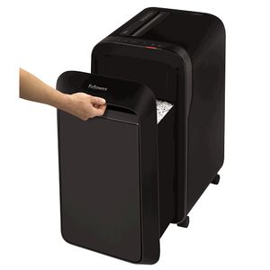 FELLOWES Powershred LX221 Micro-Cut Shredder 230V EU/UK Black (5050401)