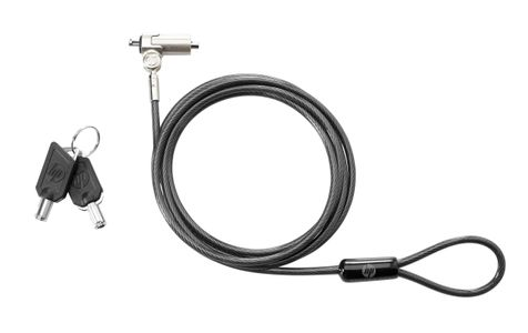 HP Essential Keyed Cable Lock (T0Y14AA)