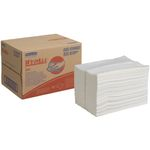 Industriaftørring,  Kimberly-Clark Wypall X80, 1-lags, 42, 8x31, 8cm,  hvid, ark
