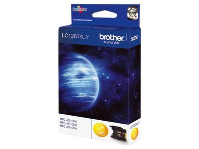 BROTHER LC1280XLY ink cartridge yellow (LC1280XLY)