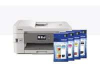 BROTHER DCPJ1100DW AIO Multifunction ink Printer ADF Wifi LCD Touch Screen (DCPJ1100DWZW1)