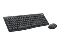 LOGITECH MK295 SILENT WIRELESS COMBO GRAPHITE - PAN - NORDIC ND (920-009810)
