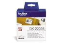 BROTHER Label roll/ white 38mm paper tape