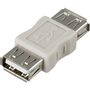 DELTACO USB Gender Changer Adapter A Female - A Female
