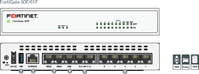 FORTINET FortiGate-61F Hardware plus 1 Year 24x7 FortiCare and FortiGuard Unified (UTM) Protection (FG-61F-BDL-950-12)