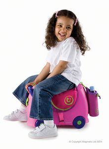 Trunki Sal til koffert, rosa (107-0177-GB01)