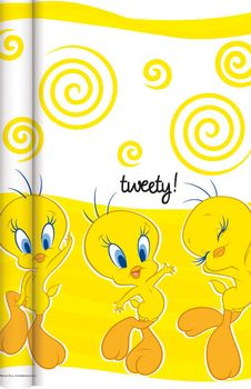 Tweety Bordduk på rull, 7x1,2m (136-115842)