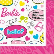 Barbie Servietter - 20 stk