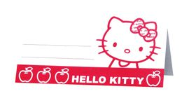 "Hello Kitty ""Apple"" Bordkort, 6 stk"