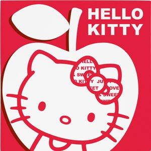 "Hello Kitty ""Apple"" Servietter 20 stk (136-117963)"