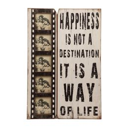 Skilt Happiness Is A Way...