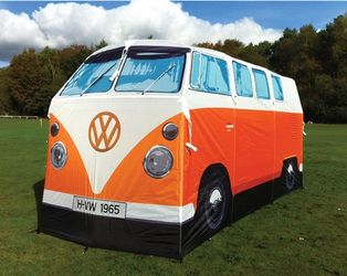 VW Camper Van Telt Orange
