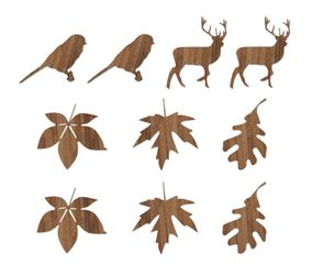 Novoform Wood Stickers - Autumn
