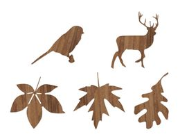Novoform Wood Stickers, Big Autumn