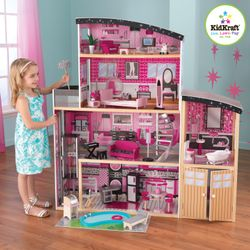 KidKraft Sparkle Mansion Dukkehus, H136