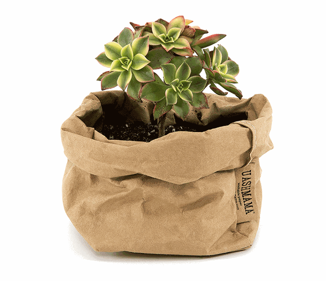 Uashmama Small Paper Bag, Natural (199-SPBNAT)